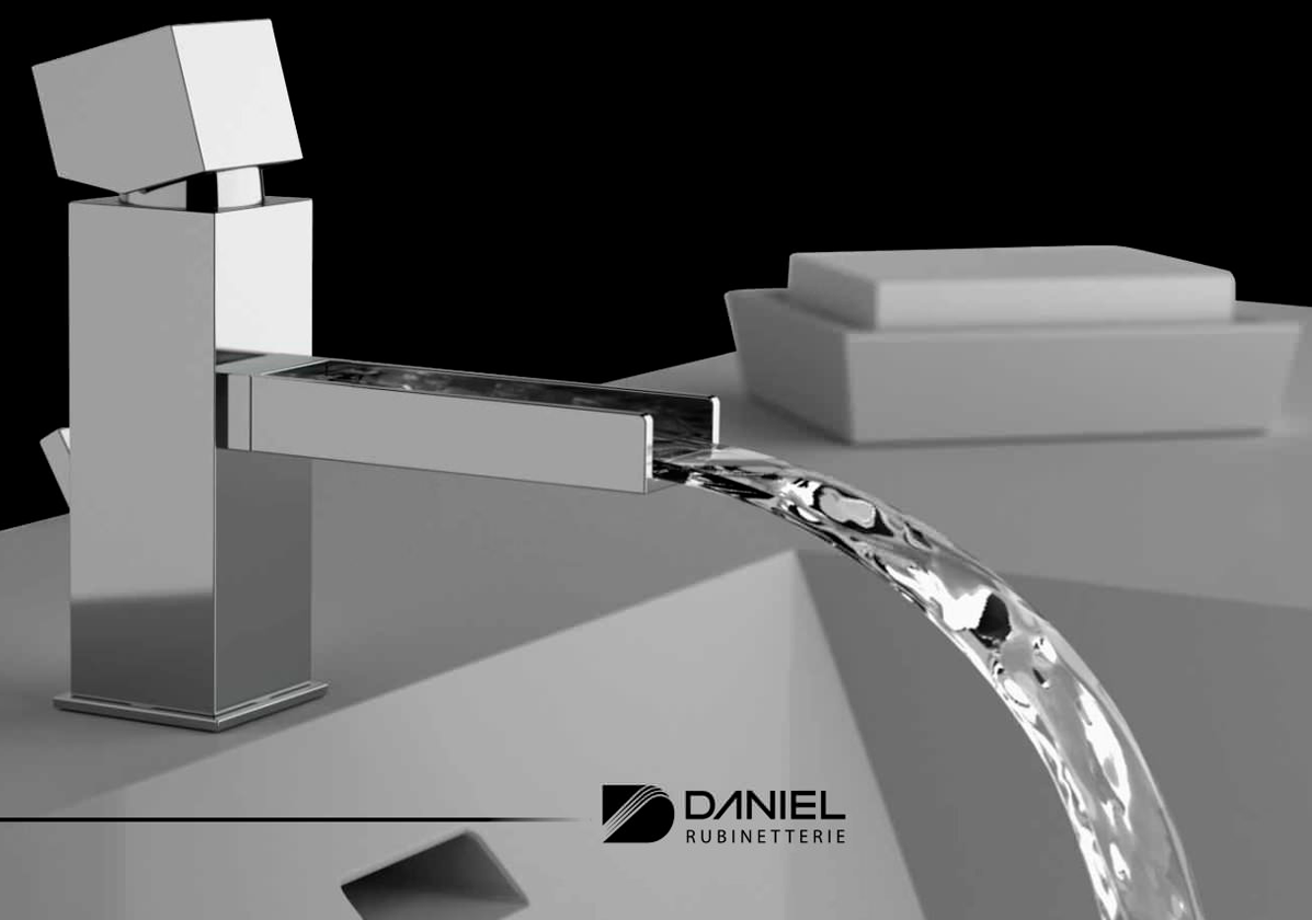 Daniel Cube Waterfall